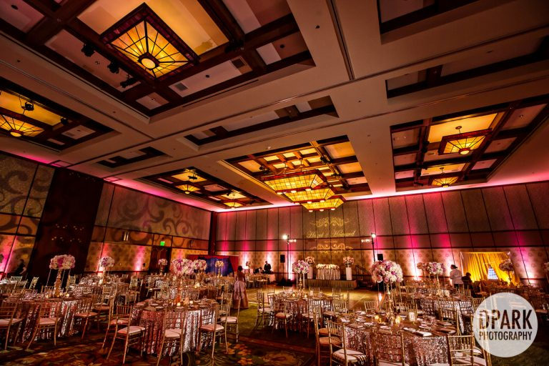 Sequoia Ballroom Disneyland Wedding