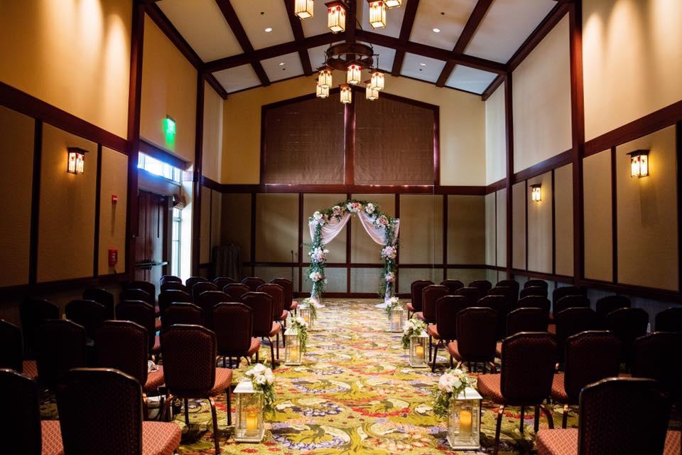 Wisteria Room Wedding Ceremony // White Rabbit Photo Boutique