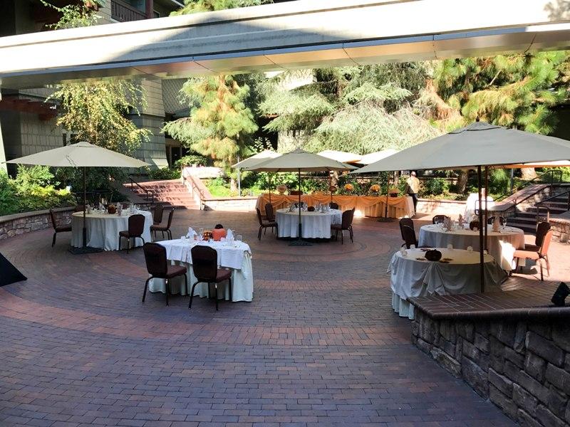 Brisa Courtyard Wedding Reception