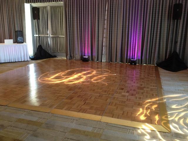 Dance floor inside Mark Twain Room