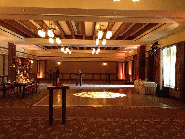 Wide view of Trillium Room at Disney's Grand Californian Hotel